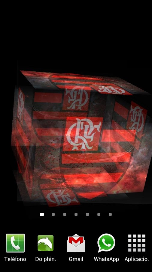 3D Flamengo Fundo Animado - screenshot