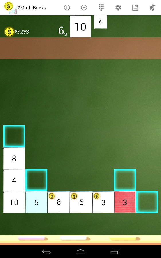 2Math Cubes -Mathematic bricks- screenshot