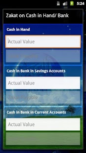 Zakat Calculator - screenshot thumbnail