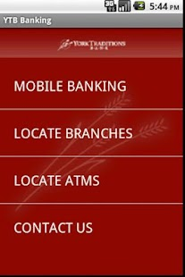 York Traditions Mobile Banking - screenshot thumbnail