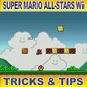 Super Mario AllStars Wii Trick logo