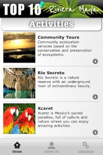 Activities Riviera Maya - screenshot thumbnail