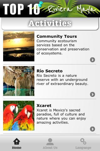 Activities Riviera Maya - screenshot