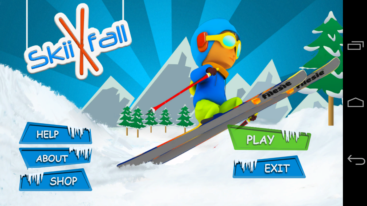 SkiiFall- screenshot