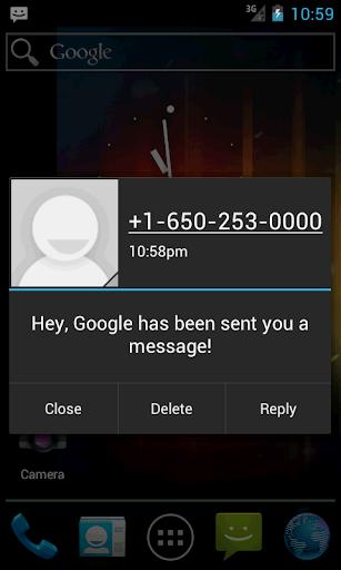 POP UP短信