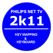 Philips 2k11 TV Key Map