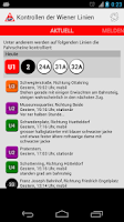 Screenshot of Kontrollen der Wiener Linien