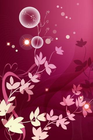 Pink Romantic Cute Wallpaper