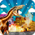 DINO ATTACK CITY TERROR RUN icon