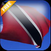 3D Trinidad & Tobago Flag LWP
