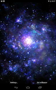 Galactic Core Free Wallpaper- screenshot thumbnail