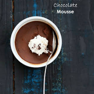 Almond Butter Chocolate Mousse.