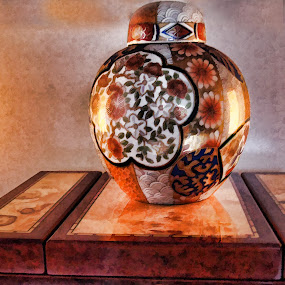Vase by Jackie Sleter - Artistic Objects Other Objects