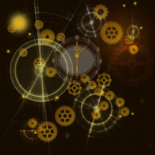 Параллакс обои с часами 個人化 App LOGO-APP試玩