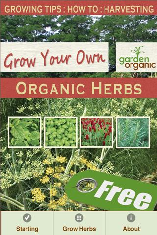 Grow Organic Herbs FREE - screenshot