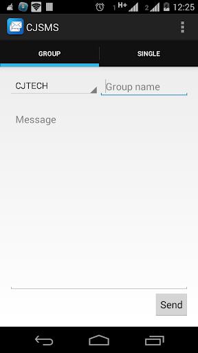 CJ SMS