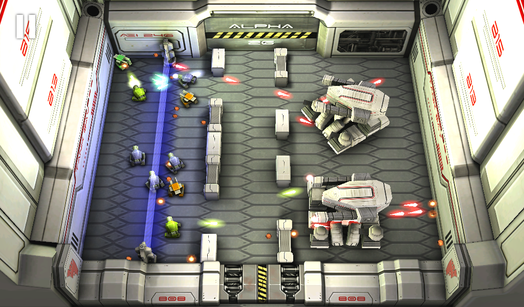 Tank Hero: Laser Wars Pro- screenshot