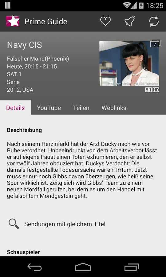 Prime Guide - TV Programm - screenshot