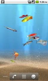aniPet Freshwater Aquarium LWP Screenshot 6