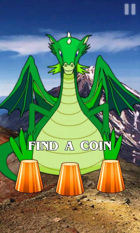 Dragon's Money (Thimbles)- screenshot