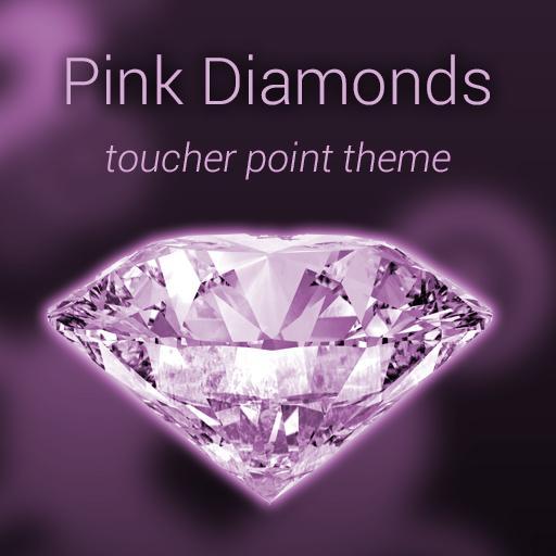 ピンクダイヤモンド触れる人ポイント 個人化 LOGO-玩APPs