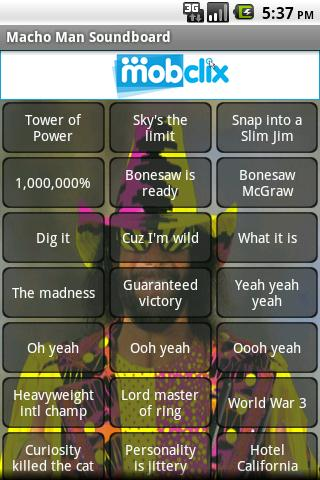 Macho Man Soundboard - screenshot