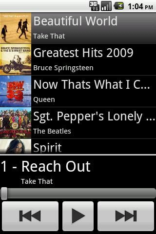 Simple Music Player Free - screenshot