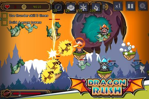 Dragon Rush- screenshot