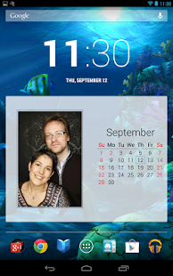 Photo Calendar Widget Free - screenshot thumbnail