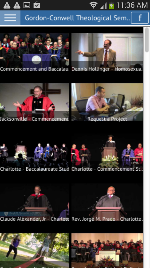 Gordon-Conwell Seminary - screenshot