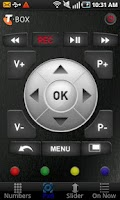 Screenshot of T-Box Remote