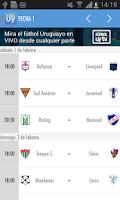Screenshot of Fútbol Uruguay