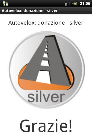 Speedcam: donation silver- screenshot