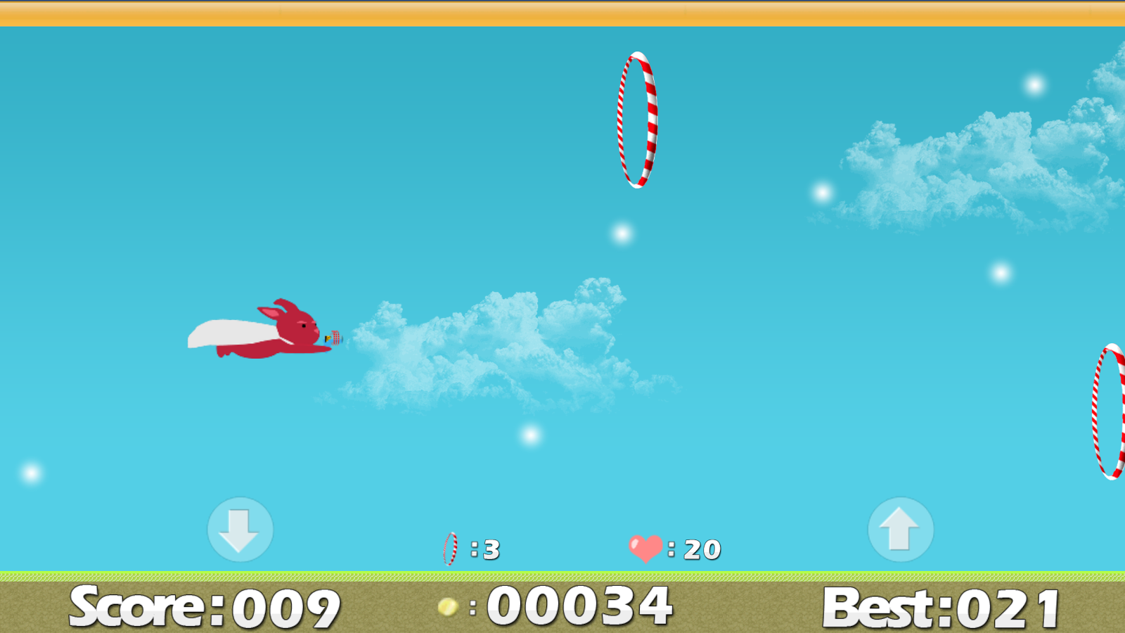 Pixy: Flying Bunny- screenshot
