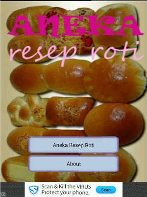 Aneka Resep Roti - screenshot