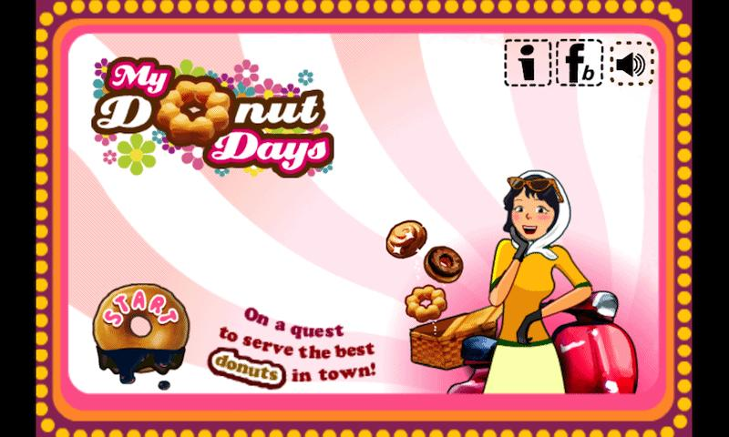 My Donut Days- screenshot
