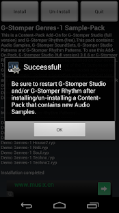G-Stomper Genres-1 Sample-Pack - screenshot thumbnail