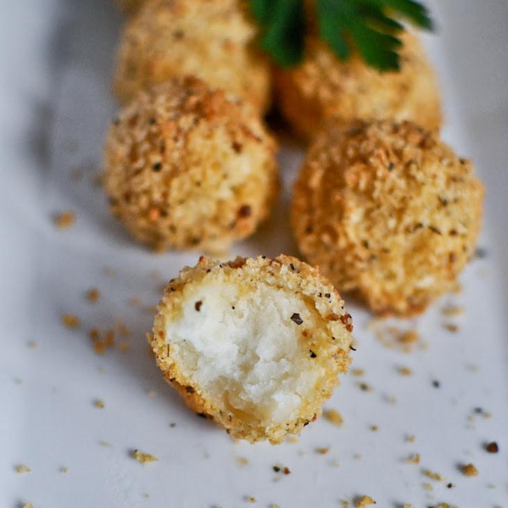 Crispy Parmesan Potato Puffs Recipe