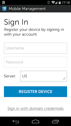 Dell Mobile Management Agent