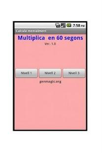 Multiplica mentalment- screenshot thumbnail