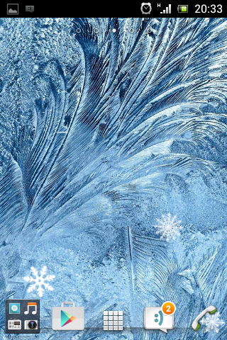 冰霜動畫壁紙