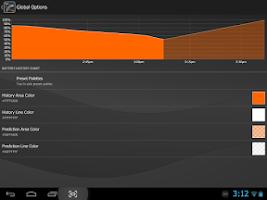Screenshot of Gauge Battery Widget 2015
