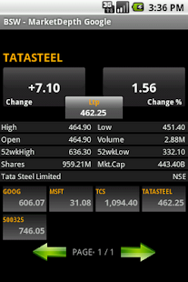 Bonrix Stock Watcher- screenshot thumbnail