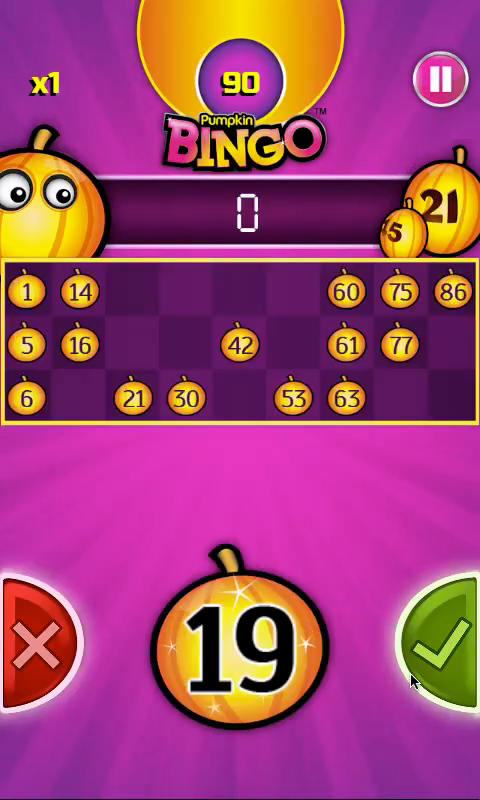 Pumpkin Bingo: FREE BINGO GAME- screenshot