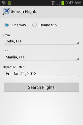 Flight Search PH
