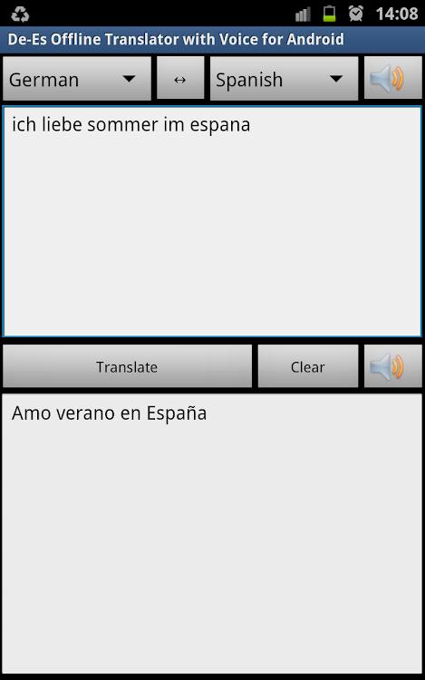 оффлайн войс переводчик на андроид