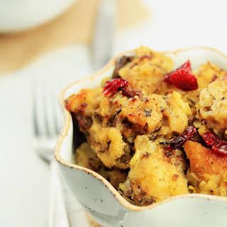 Sausage-Cranberry Stuffing.