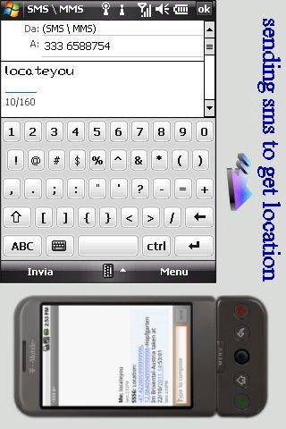 Sms2WhereAreYou- screenshot