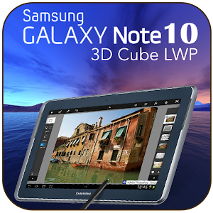 Samsung Note 10 Cube LWP HD