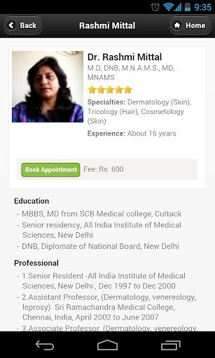 Dr Rashmi Mittal Appointments